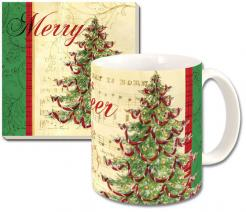 Classic Christmas Ceramic Mug Gift Set