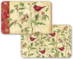 Cardinals and Holly Placemats