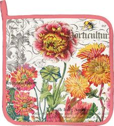 Blooms and Bees Potholder