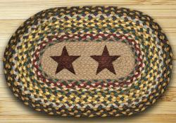 Gold Stars Braided Placemat